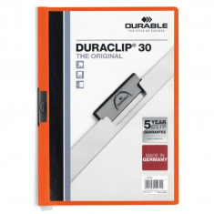 Dosar plastic Duraclip Original 30 Durable portocaliu