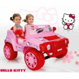 Masinuta electrica copii Hello Kitty 12 v INJUSA (INJ7534)