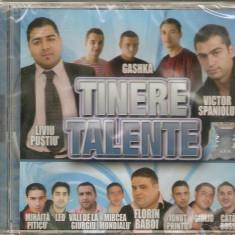 CD Tinere Talente:Liviu Pustiu,Gashka,Mihaita Piticu, sigilat