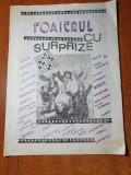 revista foaierul cu surprize-teatrul municipal ploiesti 1988-rebus,stiri,teatru