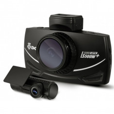Camera Auto Dubla DVR DOD LS500W+, Full HD, GPS, senzor imagine Sony, lentile Sharp, WDR, G senzor, 3 inch LCD