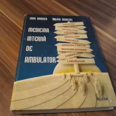 MEDICINA INTERNA DE AMBULATOR IOAN BRANEA/SILVIA MANCAS 1996