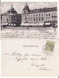 Cluj - animata, clasica, rara, Circulata, Printata