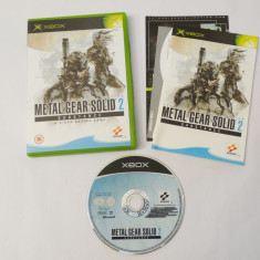 Joc Xbox Classic - Metal Gear Solid 2 Substance