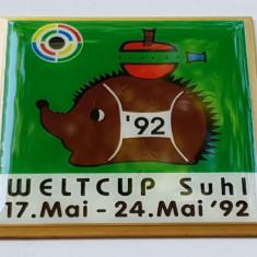 Medalia Campionatul Mondial de TIR - Germania Munchen 1992 - medalie superba #2