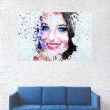 Tablou Canvas, Portret, Machiaj, Artistic - 60 x 90 cm