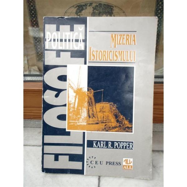 MIZERIA ISTORICISMULUI , KARL R. POPPER