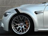 Sticker ornament auto BMW FLAG - BLACK/GRAY (20cm x 12cm), 4World