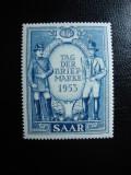 SAAR 1953 SERIE MNH, Nestampilat