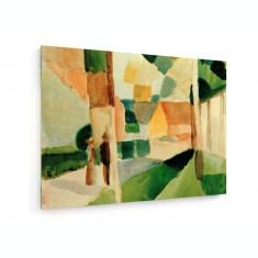 Tablou pe panza (canvas) - August Macke - Kandern I - 1914