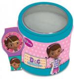 Cumpara ieftin Ceas Junior WALT DISNEY KID WATCH Model DOC MCSTUFFINS (Dott.essa Peluche) - Tin Box 561146