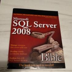 SQL SERVER 2008 BIBLE, Carte noua Microsoft SQL, Nielsen Paul White programare