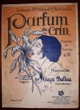 GOGU BOTTEA - PARFUM DE CRIN (PARTITURA MUZICALA VECHE)