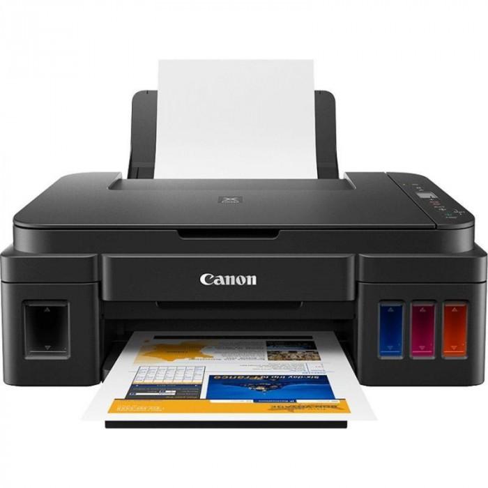 Multifunctionala inkjet color Canon Pixma G3411, Wi-Fi, sistem CISS, A4