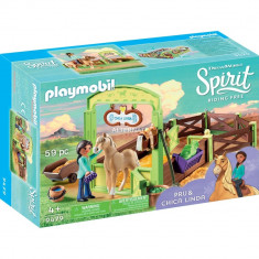 Playmobil Spirit - Spatiu ingrijire cai - Pru & Chica Linda