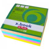 Cumpara ieftin Bloc notite color Herlitz, 8x8x3 cm, 230 file