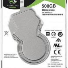HDD Laptop Seagate BarraCuda ST500LM034 500GB @7200rpm, SATA III, 2.5inch, 7mm