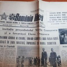 romania libera 11 mai 1982-lucrari de restaurare in ceatatea sighisoara