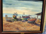 Pictori străini, Marine, Ulei, Impresionism