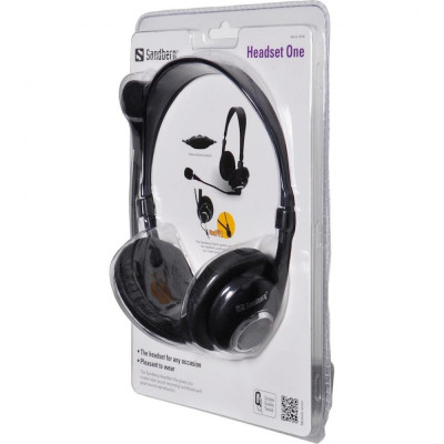 Casti cu microfon Sandberg Headset One foto