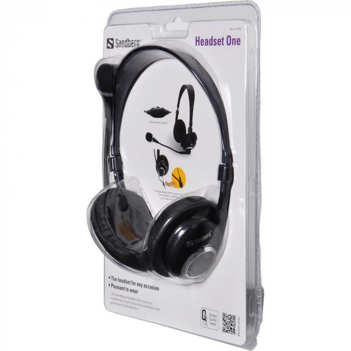 Casti cu microfon Sandberg Headset One