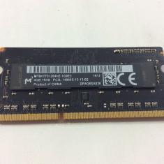 Memorie ram Micron SoDimm 4GB DDR3L-14900S 1866MHz 6 luni garantie