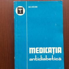 medicatia antidiabetica gh s bacanu 1972 carte stiinta medicina