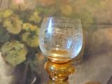 Vintage / Design - Pahar de colectie din cristal realizat manual !