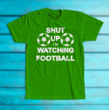 Tricou watching football