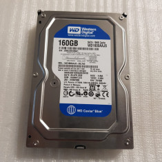 Hard disk  Western Digital  Blue, 160GB, 8MB 7200rpm SATA2  - teste reale