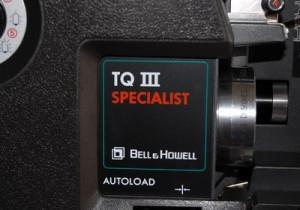Proiector BELL & HOWELL 1695 TQIII 16MM Filmsound Projector + obiectiv