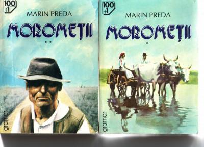 Morometii vol. I si II Marin Preda Ed. Grammar 1996 foto