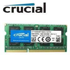 Memorie laptop sodimm DDR4 8 gb, 2400 mhz, Crucial, sigilate, garantie foto