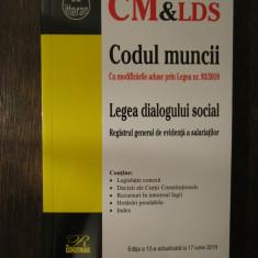 Codul muncii Legea dialogului social  , 2019