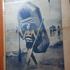 oglinda lumii 1 septembrie 1928-catastrofe pe calea ferata,avion start vertical