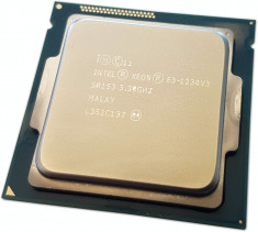 Procesor intel socket 1150 Xeon E3-1230v3 ( i7 4790s ) Haswell 8 Threads + pasta foto