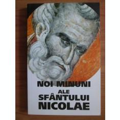 Noi Minuni ale Sfantului Nicolae