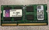 Memorie ram sodimm Kingston 4Gb DDR3 1333Mhz PC3-10600S,1.5V - KTL-TP3B