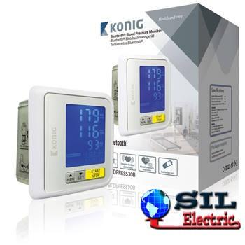 Tensiometru digital pentru incheietura mainii cu Bluetooth Konig foto