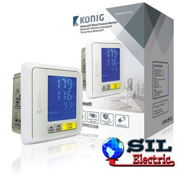 Tensiometru digital pentru incheietura mainii cu Bluetooth Konig