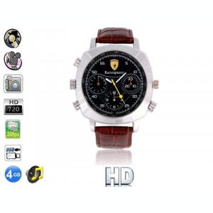 Ceas Spion cu Camera HD iUni Spy W20 720p, Foto, Video