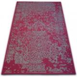 Covor Vintage 22208/082 vin roșu si gri rozetă clasică, 160x230 cm
