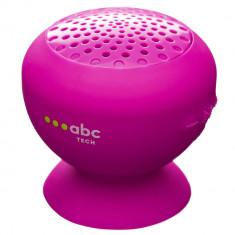 Boxa Portabila Waterproof Cu Microfon Roz