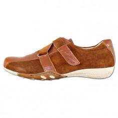 Pantofi casual dama piele naturala - Nicolis maro - 14675-Maro-VE-39