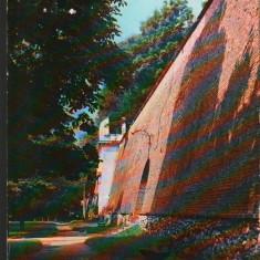 CPI B12310 CARTE POSTALA - SIBIU. ZIDUL CETATII, Necirculata, Fotografie