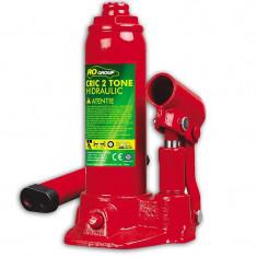 Cric hidraulic RoGroup, 2 tone, levier demontabil