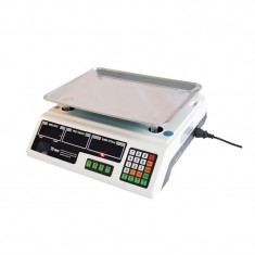 Cantar electronic Blade, acuratete 2 g, maxim 40 kg, otel inoxidabil, dublu afisaj LED, incarcator inclus