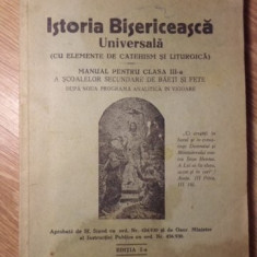 ISTORIA BISERICEASCA UNIVERSALA (CU ELEMENTE DE CATEHISM SI LITURGICA) - PR. ECO