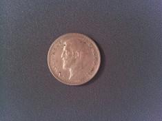 Monedă argint România 2 lei 1914 foto