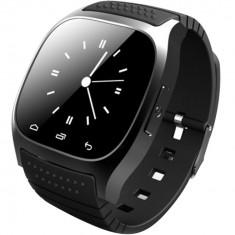 Resigilat! Smartwatch iUni U26 Bluetooth, 1.5 inch, Pedometru, Notificari, Negru